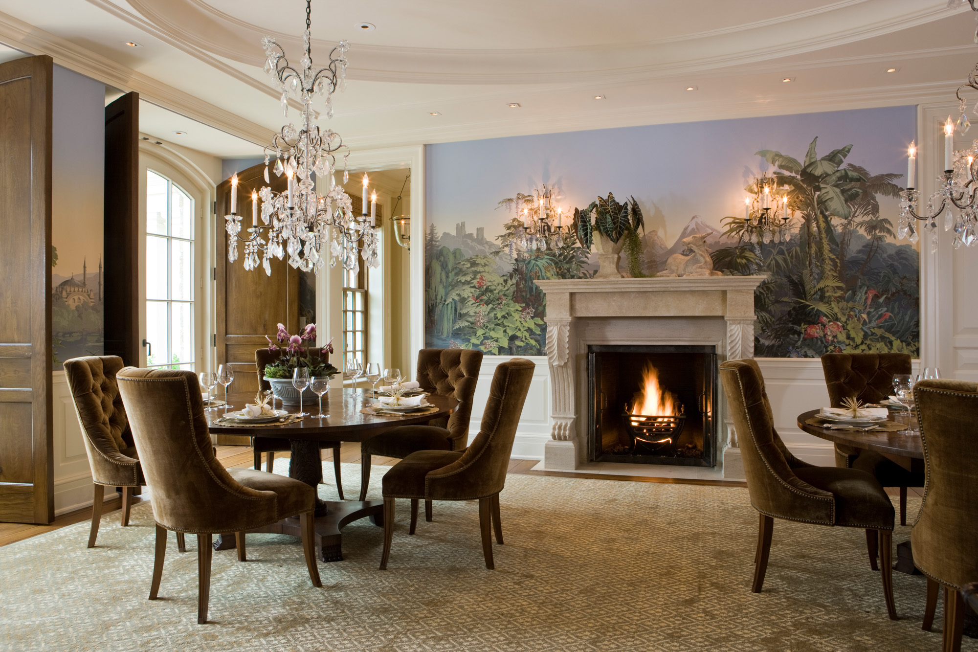 Weston georgian manor slc interiors for Georgian living room ideas