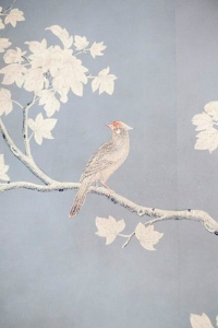 A little birdie told us that Gracie still makes the most gorgeous hand-painted wallpapers