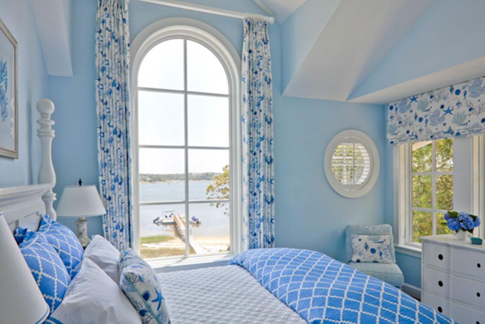 Blue Matouk Bedding