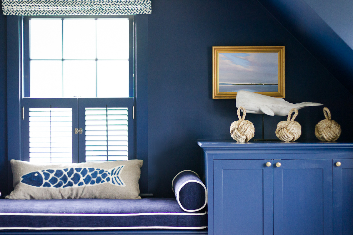 Woods Hole Study; Indigo Blue